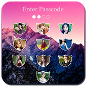 OS9 Passcode Photo Lock screen 1.2