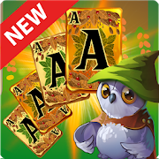 Solitaire Dream Forest - Free Solitaire Card GameGo VuzzleCard