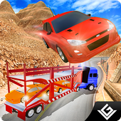 Racing Cars Trailer Truck 3D 1.8