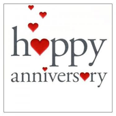 Happy Anniversary wishes Greetings Card & Messages 1.0