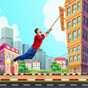 City bounce rope hero–Free offline adventure games 1.30