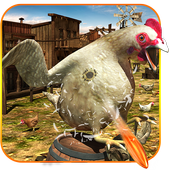 Crazy Farm Chicken Shooting & hunting 3D 1.0