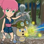 Ninja Girl: Throwing RPG