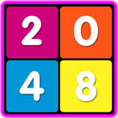 Colored 2048 with mPLUS 1.0.1