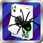 Lucky Spider Solitaire Card