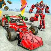 Ramp Car Robot Transforming Game: Robot Car Games 1.3