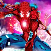 Hero Iron Spider Avenger Robot Grand City Amazing 2.0