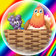 Funny Bubble (Fruits and Animals) Pre-School Game 2.0