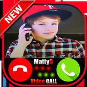 Incoming call from MattyB raps : fake call prank