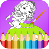 Princess Coloring Pages for Kids, Boys & Girls 1.3