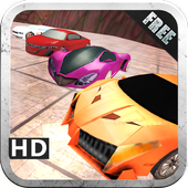 Hill Climb Stunt Racing Car 3D 2