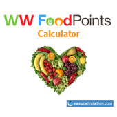 WW Food Points Calculator 3.4