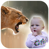 Animal Photo Frame Editor- Wild Animal Photo Maker 2.0