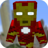 Mod Iron Heroes for MCPE 1.0