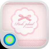 Pink Plaid Hola Theme 6.0.2
