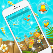 Summer Holiday Launcher Theme 1.1.2