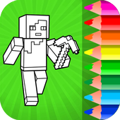 Minecraft Coloring Pages 2.1