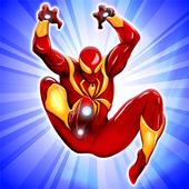 Flying Iron Spider Hero Adventure New 1.8