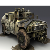Army Training Truck Parking 3D