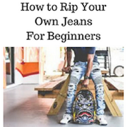 How to rip your own jeans 1.0