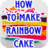 Rainbow Cake Recipe Videos
