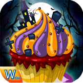 Cupcake Halloween Cooking game 1.0
