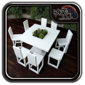 Modern Garden Table and Chairs 1.0