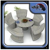Rattan Garden Furniture Design 1.0