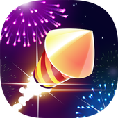 Flashy Fireworks: Shoot the firework rocket league 0.9
