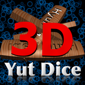 Real 3D Yut Dice현마니Board