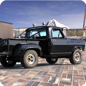4x4 offroad truck drive