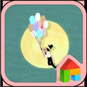 Moon dodol launcher theme 1.1