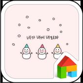 SnowmanWarm DodolLauncherTheme 1.1