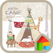 WinterCamp dodollauncher theme 1.1