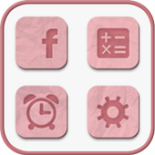 Lovely Pink icon theme