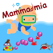 Mamma mia. Swimming baby!