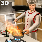 Real Cooking Game 3D-Virtual Kitchen Chef 1.8