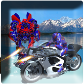police moto robot transform 1.0