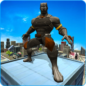 Super Panther Hero Crime City Battle