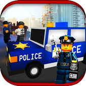 Chase Blocky Police 2018 3D 1.0