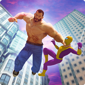 Fighting Games: Spider Superhero v/s Bigman