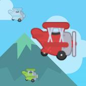Airstrike Plane Crash:For Kids 1.0
