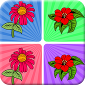 Flowers Matching Games free 1.0