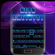 Black Neon 3D Keyboard Theme 72.0