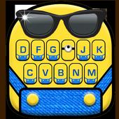 Cartoon Yellow Me Keyboard Theme 1.0