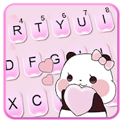 Cute Pink Panda Keyboard Theme 10 Apk Download Android