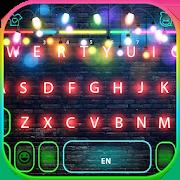 Flash Neon Light Keyboard Theme 1.0
