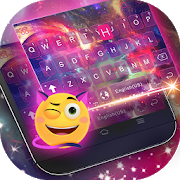 Dreamer Galaxy Emoji Keyboard Theme 500 0 APK Download - Android