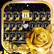 Gold Rose Lux Keyboard Theme 1.0