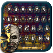 Mummy Mystery Emoji Keyboard Theme 1.0